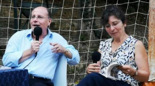 Marco Delpino e Alessandra Rotta al Parco delle Fontanine