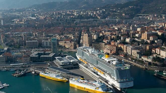 porto, navi, container