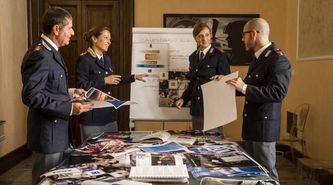 Presentazione del calendario 2021 della Polizia di Stato.
