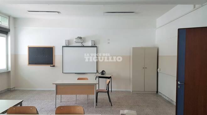 Scuola media di via Val di Canepa a Sestri Levante.
