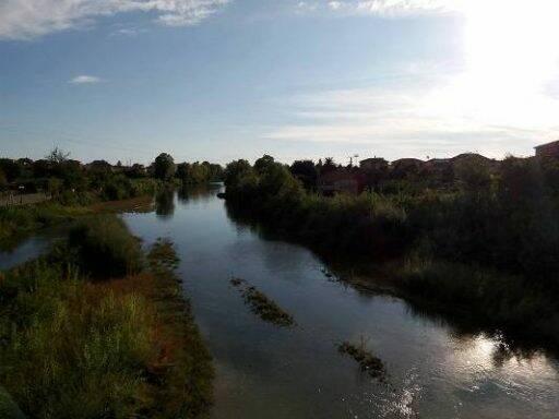 Uno scorcio del fiume Entella