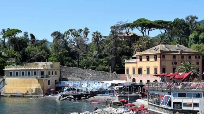 Via Avenaggi a Rapallo.