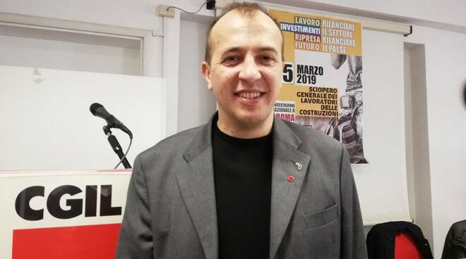 Federico Pezzoli di Filea CGIL