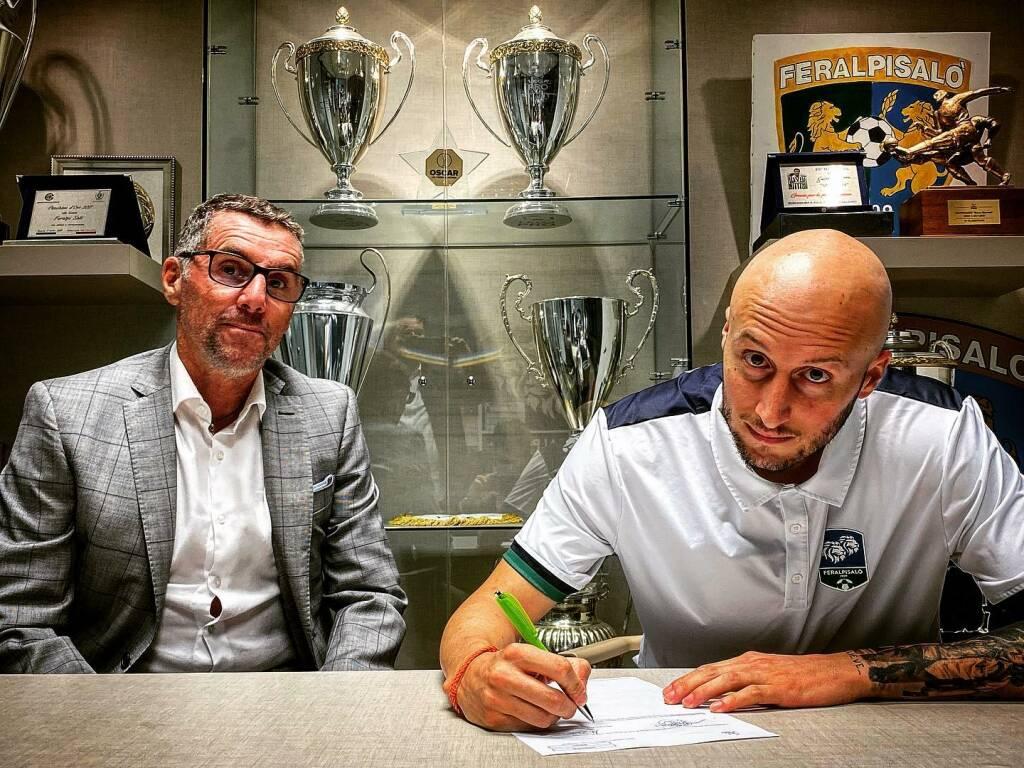 Il centrocampista Tommaso Morosini firma con la Feralpisalò.