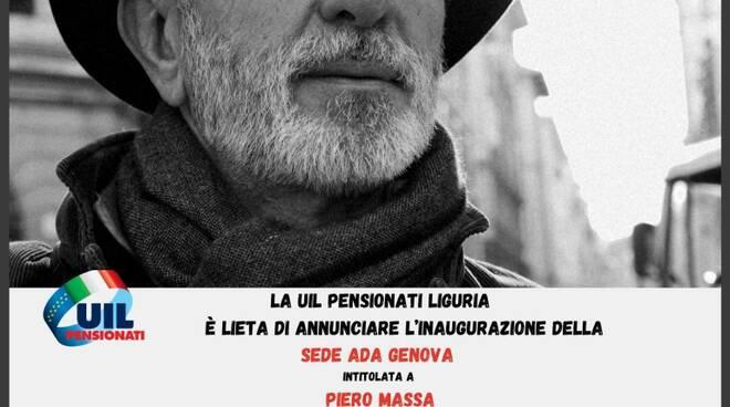 Inaugurazione sede ADA Liguria intitolata a Piero Massa.