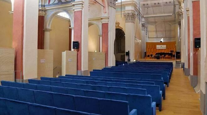 L'auditorium San Francesco a Chiavari.