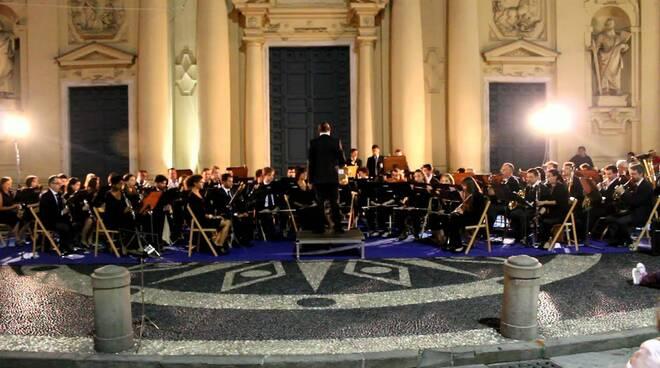 "La filarmonica ""Cristoforo Colombo"" a Santa Margherita Ligure"