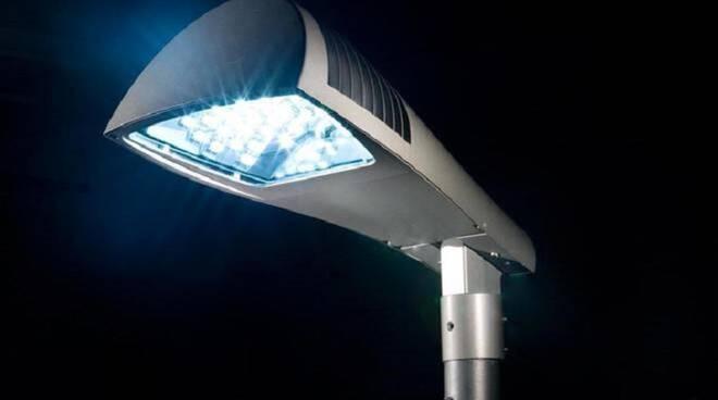 Nuova illuminazione pubblica a LED per il comune di Recco.