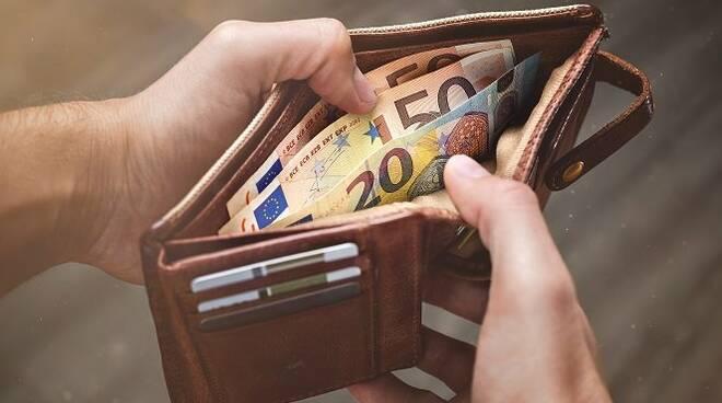 Portafoglio, soldi, banconote
