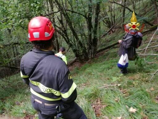 Soccorso Alpino in azione per salvare tre cercatori di funghi.