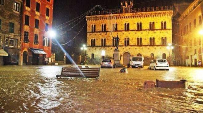 Alluvione nel Tigullio.