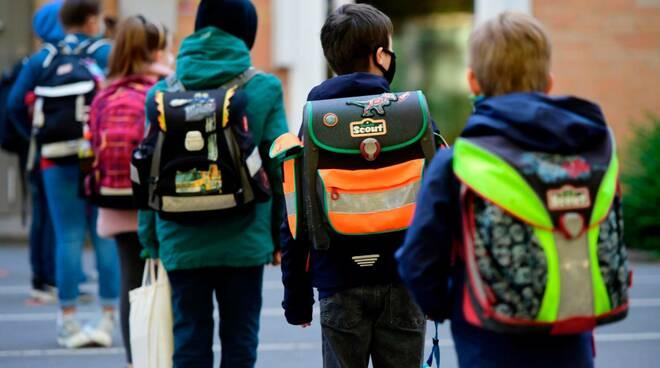 bambini, scuola, alunni, classe