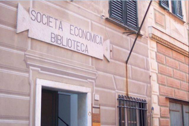 biblioteca, società economica, chiavari