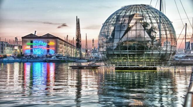 biosfera all'acquario