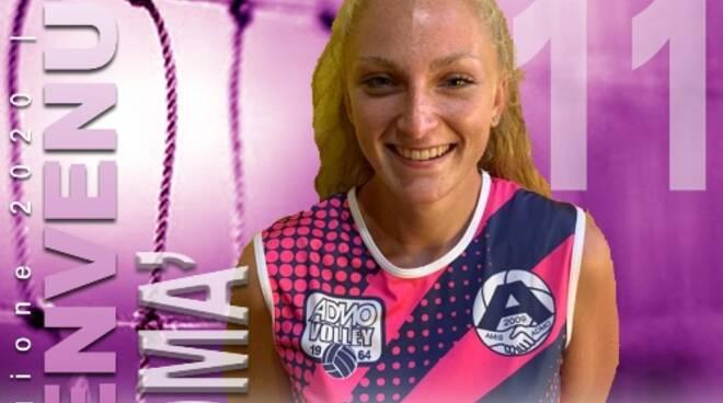 Giorgia Tomà dell'Amis Admo Volley Femminile.