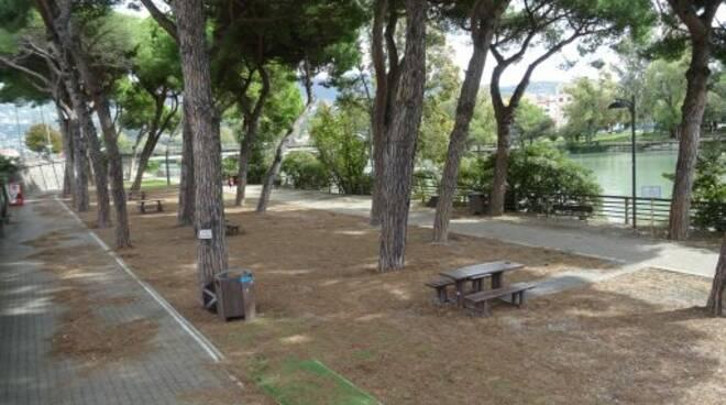 Il Parco Rensi a Chiavari