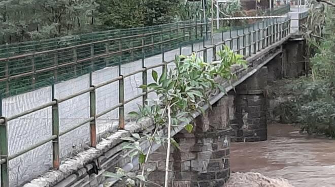 Il ponte Rachele Lagomarsino di Calvari.