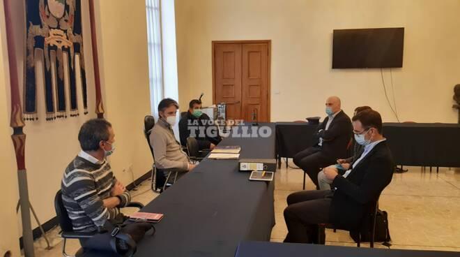 L'incontro in comune a Santa Margherita di con il tema raccolta differenziata.