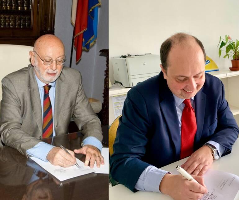 La firma tra Celivo e UniGe.