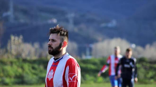 Nicola Conti nuovo centravanti del Casarza Ligure.
