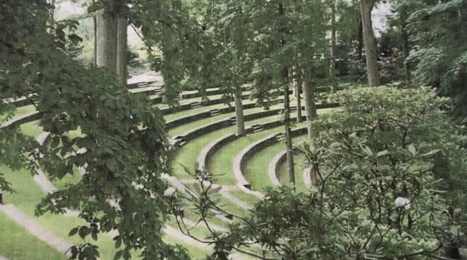 parco rocca, anfiteatro, chiavari