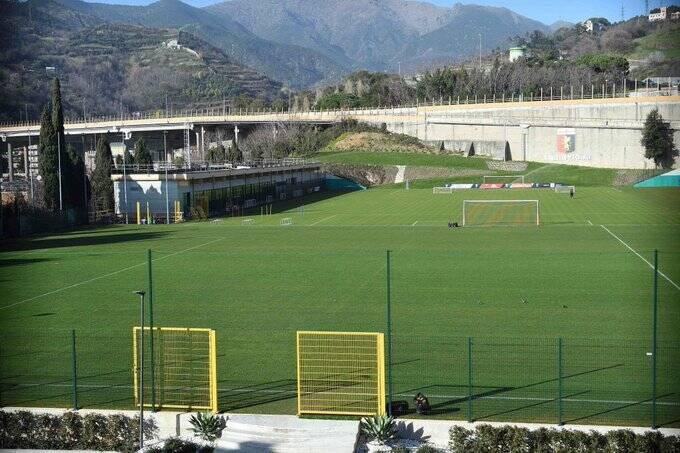 pegli, genoa, campo (ph Genoa su Twitter)