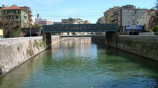 Ponte Mobile di Rapallo.