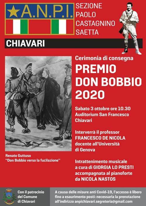 Premio Don Bobbio a Chiavari.