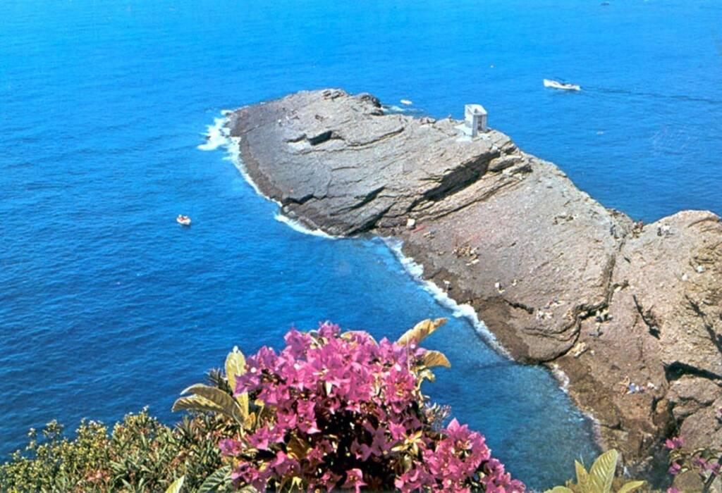 Punta Chiappa, frazione di Camogli.
