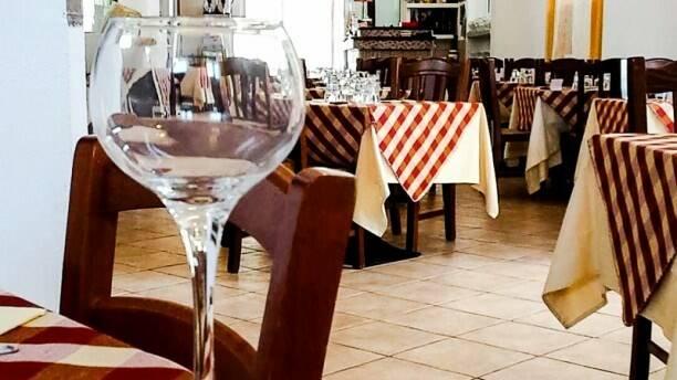 ristorante, tavoli, pranzo, cena