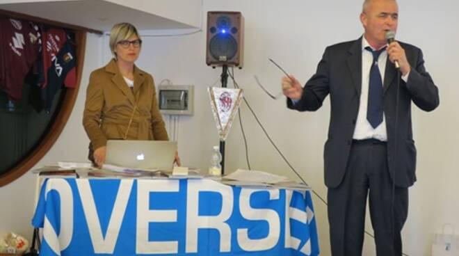 Sivano Cavallaro durante una presentazione di OverSea.