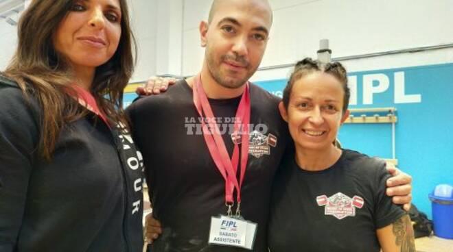 Sonia Parlanti, medaglia d'argento ai Campionati Italiani di Powerlifting.
