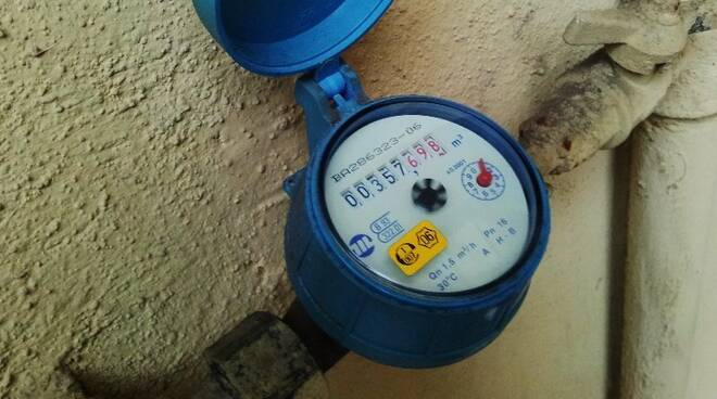 contatore, acqua, gas