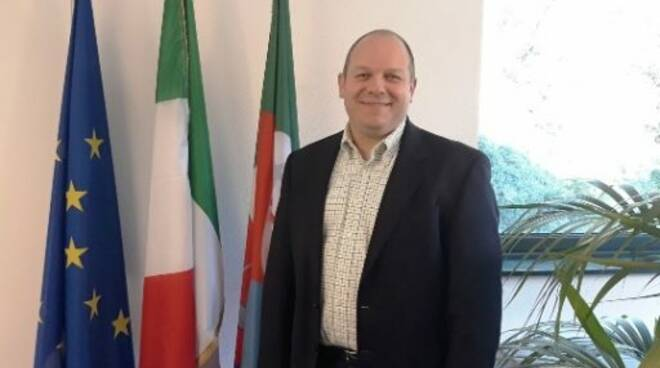 Daniele Nicchia, sindaco di Lumarzo.