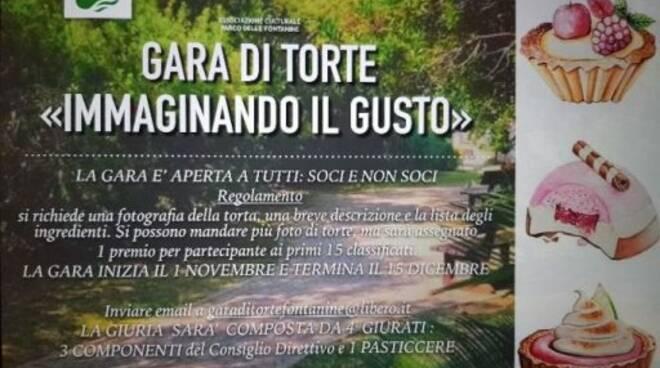 """Gara di torte online organizzata dall'Assocazione """"Parco delle Fontanine"""" a Rapallo."""