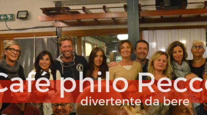 """I membri dell'assocazione """"Café Philo"""" di Recco."""