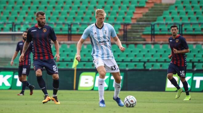 Il forte e giovane centrocampista della Virtus Entella Brescianini.