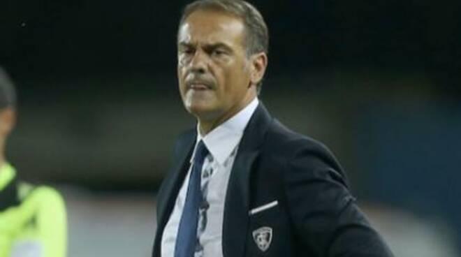 L'allenatore Vincenzo Vivarini.