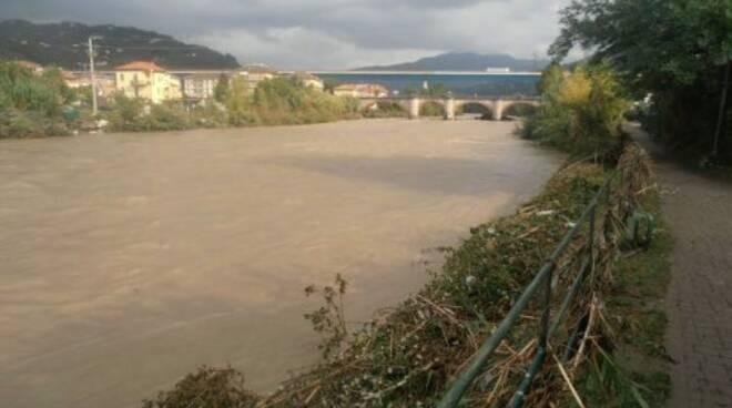 L'esondazione del 2014 del fiume Entella.