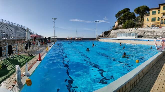 La piscina di Punta Sant'Anna.