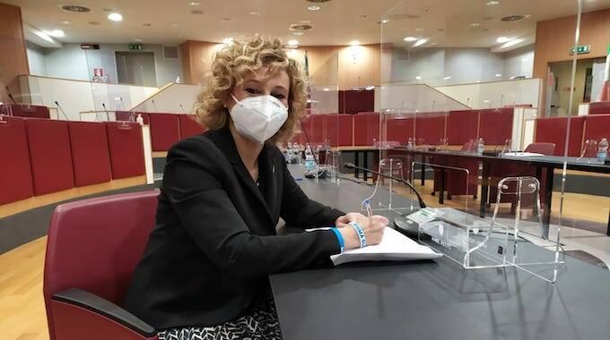 Mabel Riolfo, neo entrata nel Consiglio Regionale della Liguria.