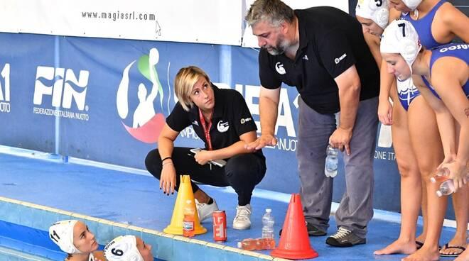 Maggi, allenatore della Pallanuoto Bogliasco.
