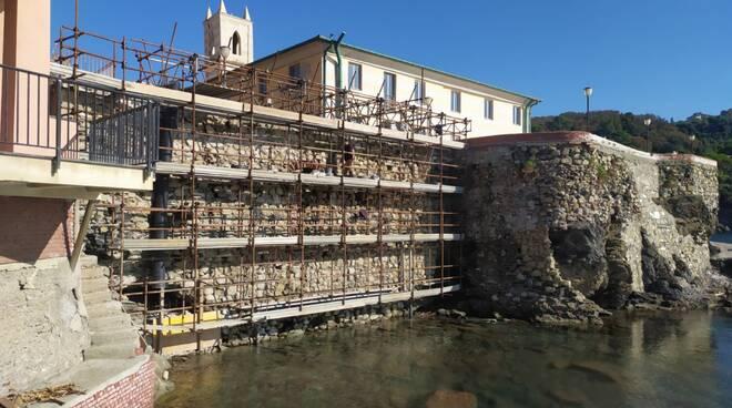 muro belvedere, ex convento annunziata, sestri