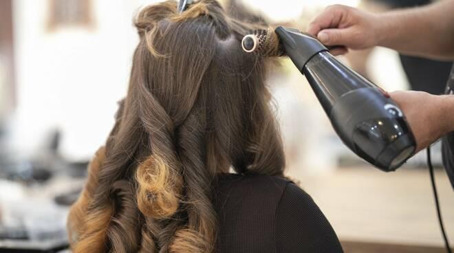 parrucchiere, capelli, taglio