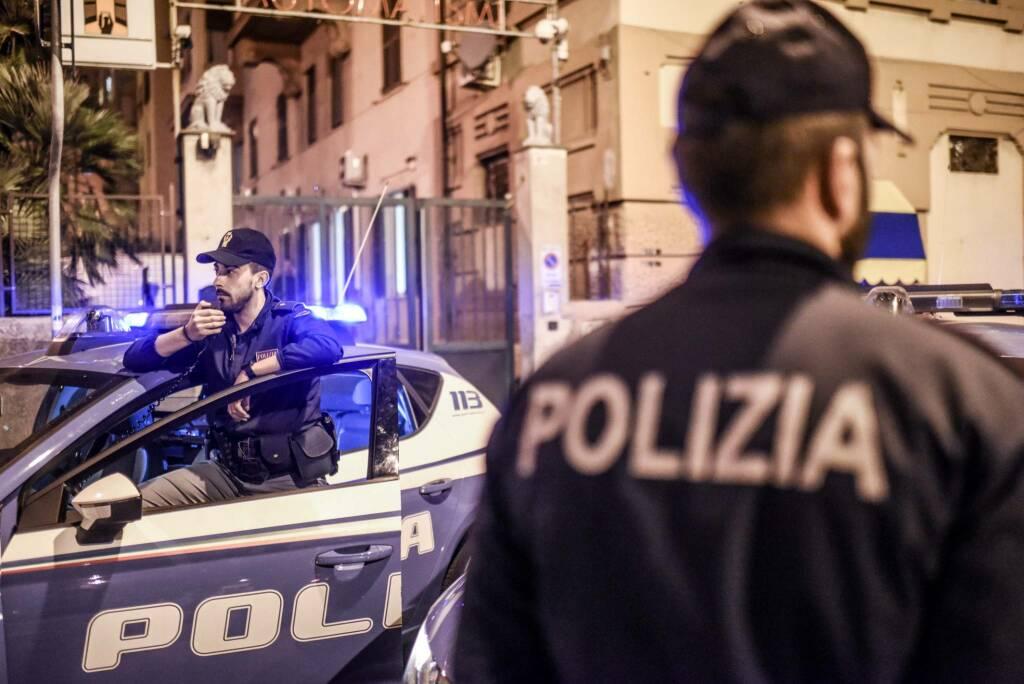 Polizia di Stato di Genova.