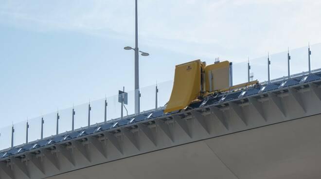 Ponte Genova San Giorgio, robot, sicurezza