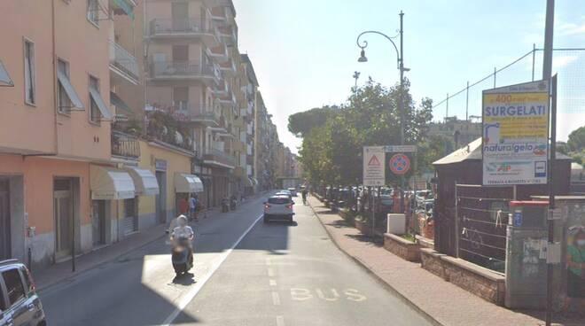 Via della Libertà a Rapallo