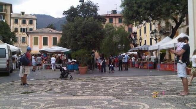 bogliasco, mercato