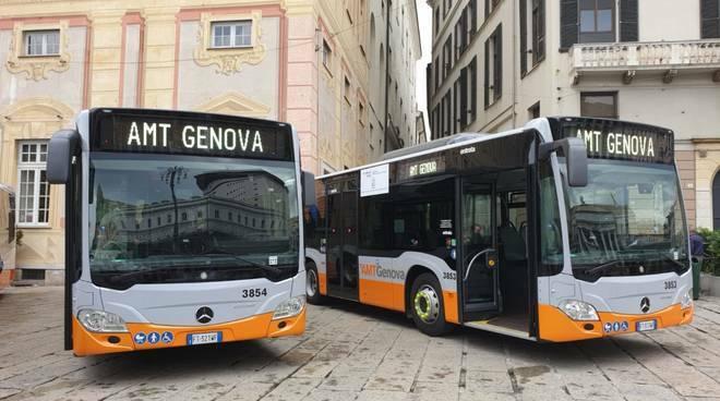 Bus AMT di Genova.