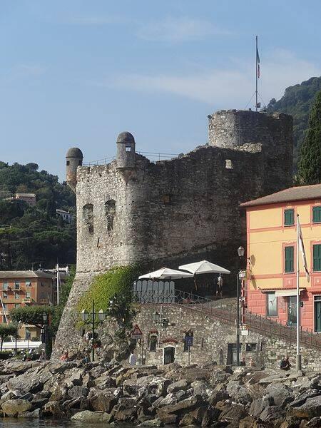 castello, piazza caprera, santa margherita